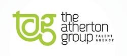 Dave Clarke Voice Actor the atherton group logo